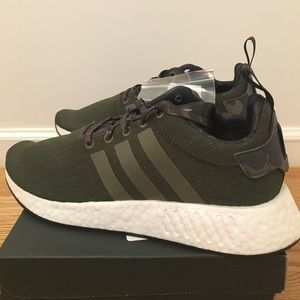 585fcc2bf adidas Shoes - Adidas Originals NMD R2 Boost Olive Green Camo NEW